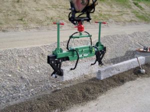 kerb stone clamp