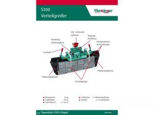 Typenblatt Pflaster Verteilgreifer S100